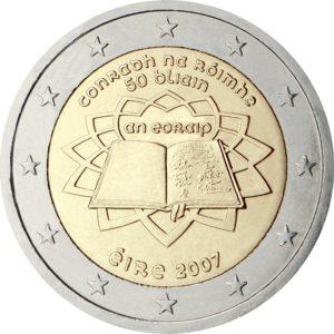 2007, Ирландия, серия «50 лет подписанию Римского договора»