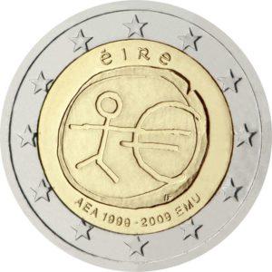 2009, Ирландия, серия «10 лет Экономическому и валютному союзу»