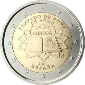 2007, Испания, серия «50 лет подписанию Римского договора»