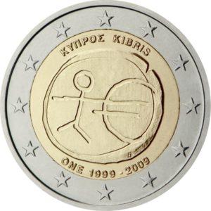 2009, Кипр, серия «10 лет Экономическому и валютному союзу»