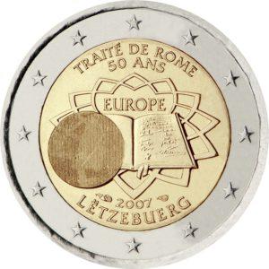 2007, Люксембург, серия «50 лет подписанию Римского договора»