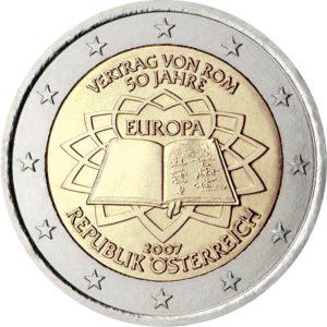 2007, Австрия, серия «50 лет подписанию Римского договора»