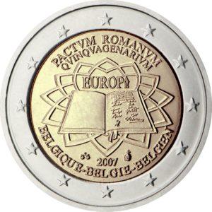2007, Бельгия, серия «50 лет подписанию Римского договора»