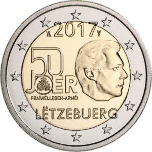 2017, 50 лет добровольной военной службы в Люксембурге
