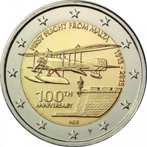 2015, 100 лет первому авиаполёту с Мальты
