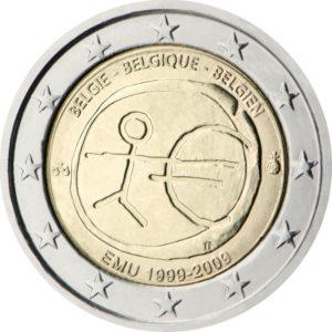 2009, Бельгия, серия «10 лет Экономическому и валютному союзу»
