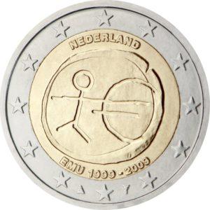 2009, Нидерланды, серия «10 лет Экономическому и валютному союзу»
