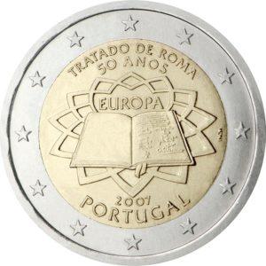 2007, Португалия, серия «50 лет подписанию Римского договора»