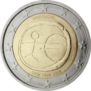2009, Португалия, серия «10 лет Экономическому и валютному союзу»