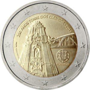 2013, Португалия, 250 лет церкви Клеригуш (г. Порту)