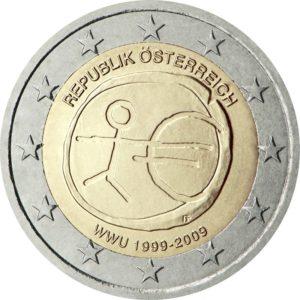 2009, Австрия, серия «10 лет Экономическому и валютному союзу»