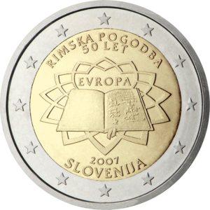 2007, Словения, серия «50 лет подписанию Римского договора»