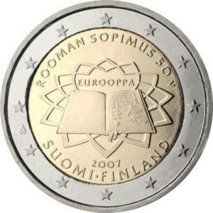 2007, Финляндия, серия «50 лет подписанию Римского договора»