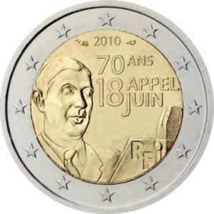 2010, 70 лет воззванию Шарля де Голля «Ко всем французам» 18.06.1940г.