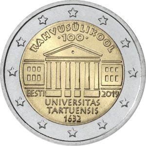 2019, Эстония, 100 лет со дня основания Тартуского университета