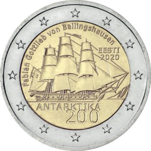 2020, Эстония, 200 лет со дня открытия Антарктиды