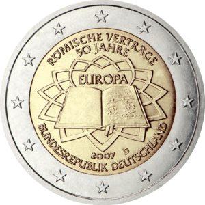 2007, Германия, серия «50 лет подписанию Римского договора»