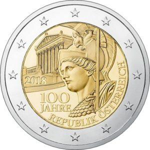 2 евро Австрия