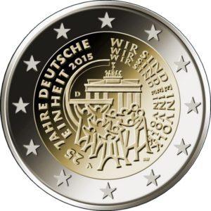 2015, 25 лет объединению Германии (J)