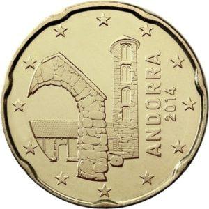 20 евроцентов, Андорра