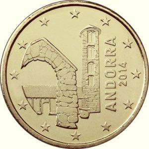 50 евроцентов, Андорра
