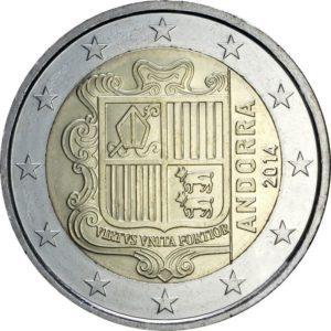 2 евро, Андорра, 2017