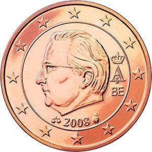 2 евроцента, Бельгия, тип 2, 2008