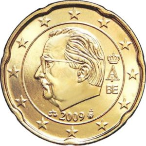 20 евроцентов, Бельгия, тип 3