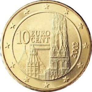 10 евроцентов, Австрия, 2018