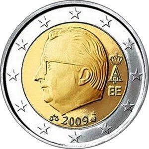 2 евро, Бельгия, тип 3