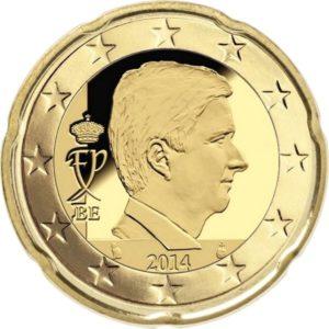 20 евроцентов, Бельгия, тип 4, 2019