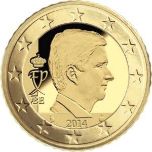 50 евроцентов, Бельгия, тип 4, 2017