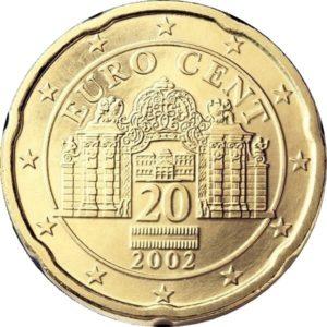 20 евроцентов, Австрия, 2018