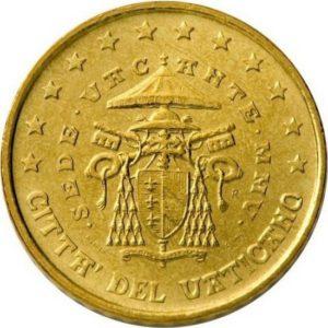 10 евроцентов, Ватикан, тип 2