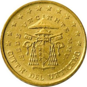 50 евроцентов, Ватикан, тип 2