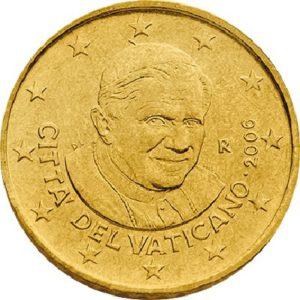 50 евроцентов, Ватикан, тип 3