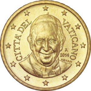 50 евроцентов, Ватикан, тип 4