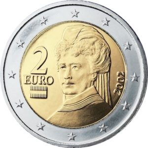 2 евро, Австрия