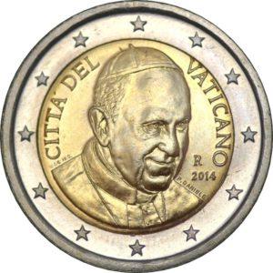 2 евро, Ватикан, тип 4