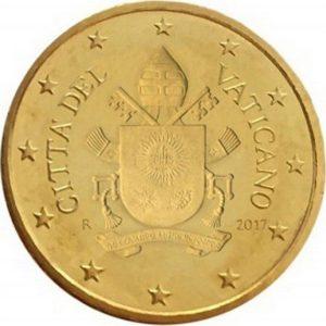 50 евроцентов, Ватикан, тип 5, 2019
