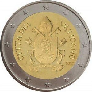 2 евро, Ватикан, тип 5