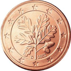 2 евроцента, Германия