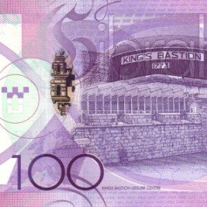 100 фунтов, Гибралтар, 2011