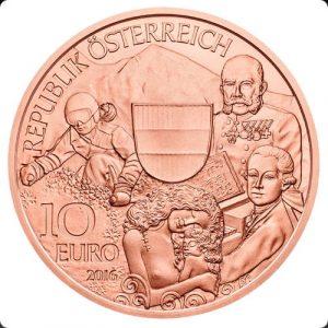 10 евро, Австрия, 2016, Вся Австрия