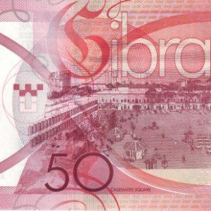 50 фунтов, Гибралтар, 2010