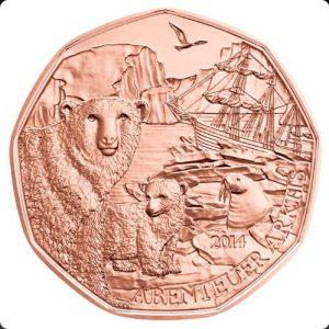 5 евро, Путешествие в Арктику, 2014, Австрия
