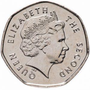 20 пенсов, Фолклендские острова, 2004