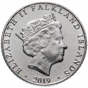 5 пенсов, Фолклендские острова, 2019
