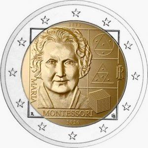 2020, 150 лет со дня рождения Марии Монтессори