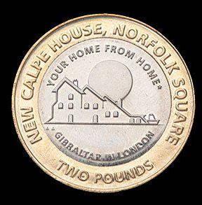 2 фунта, Гибралтар, Calp House, 2018